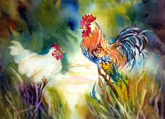 Watercolor by Carol Baumrucker