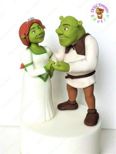 Shrek e Fiona by Sheila Laura Gallo