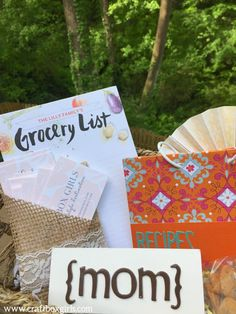 Treat mom to a customized and thoughtful gift for Mother's Day. This gift basket DIY makes a perfect Mother's Day gift idea. Mother's Day Gift Baskets, Best Mothers Day Gifts, Tiny Prints, Perfect Mother's Day Gift, Baby Family, Craft Box, Creative Gifts, Thoughtful Gifts, Diy Gifts