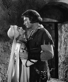 Errol Flynn and Olivia de Havilland - The Adventures of Robin Hood 1938