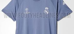 Champions League 16-17: Camiseta de entrenamiento del Real Madrid