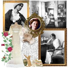 ~Grand Duchess Olga Romanov~ by musegal on Polyvore.  OLGA had the lightest hair in the family and was a dark blond with blue eyes and her father's pug nose. She was thin and willowy. Like all her sisters she was naturally graceful, delicate in her movements and exceedingly polite in public. Olga was the most scholastic sister of the four and loved reading novels and newspapers. Her favorite book was Victor Hugo's Les Misérables.