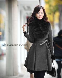 Aliexpress.com : Buy Fashion Women Detachable Real Fur Collar