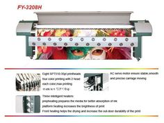 Digital Printer FY-3208H with Seiko SPT Printhead