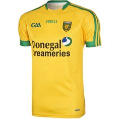 Donegal GAA Jersey features Koolite moisture management to keep you cool during those tense match moments. Donegal, Menswear, Sports, Mens Tops, Shopping, Christmas Presents, Ireland, Irish, Football