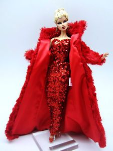 Eaki-Fur-Coat-Red-Dress-Outfit-Gown-Silkstone-Barbie-Fashion-Royalty