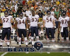 Chicago Bears Linemen-look at number Nfl Bears, Bears Football, Football Cards, Football Team, Football Baby, Chicago Bears Wallpaper, Walter Payton, Football Conference, Bear Photos