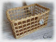 tutorial newspaper basket