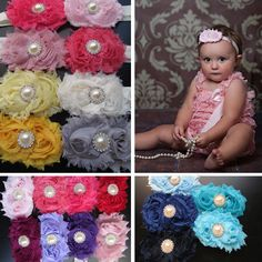 $3.99 Shabby Chich Flower Headbands