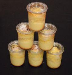 Käsekuchen im Glas backen #Quark #ceesecake