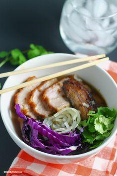 "Pork Belly ""Ramen"" Noodle Bowl {paleo & AIP}"