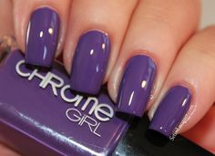 PLEASURE TREASURE - Chrome Girl -  From the Fall 2013 Romancing the Chrome Collection -  Deep jeweled toned Plum cream. (2 coats) NOTES: stunning color
