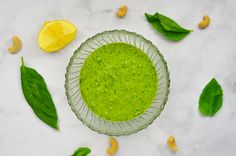 An incredibly simple and delicious dairy-free pesto made with cashews, fresh basil, lemon, garlic and olive oil. A fresh and zesty addition to your favorite Italian dish! Whole30 compliant, paleo,…