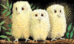 Owl Babies by Martin Waddell is brilliant for young children as the story focuses on how three little owlets manage to keep their spirits up while their mother is out hunting for food. It addresses separation with a happy ending.