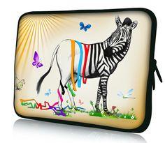 "Zabra Soft 11.6"" 12"" 12.1"" Laptop Sleeve Case Bag Cover For Acer Aspire 1410 HP Dell #Affiliate"