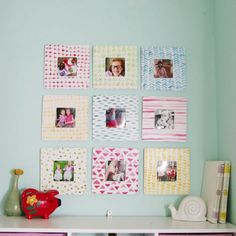 Learn how to make these watercolor patterned frames. They are perfect for displaying your Instagram photos!