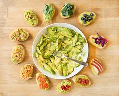 Tired of your ho-hum avocado toast? Mix it up with these twelve delicious avocado toast pairings...