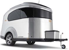 For those of you who ached when we posted the un-buyable Nissan Airstream BaseCamp Trailer, your time has come. The 2008 Airstream Basecamp Trailer (from. Airstream Basecamp, Airstream Trailers, Airstream Bambi, Airstream Interior, Tiny Trailers, Vintage Airstream, Vintage Caravans, Vintage Campers, Small Motorhomes