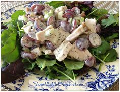 Sweet Little Bluebird: Tried & True ~ Sonoma Chicken Salad Recipe