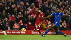 Salah stuns Leicester with a double, FT 2-1
