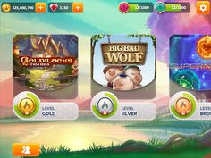 Mirrorball Slots: Kingdom of Riches (Plumbee) on Behance Robert Day, Big Bad Wolf, Game Concept, Ui Inspiration, Game Ui, Mobile Game, Game Design, Ui Design, Poker Table