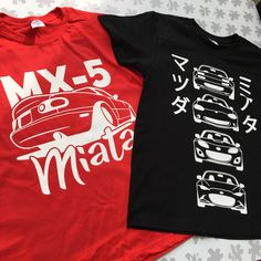 NB Miata t-shirt for jdm roadster fans and lovers! Perfect gift for a Miata, or Eunos owner! Lineup, Jdm, Racing, Etsy Shop, Cars, Trending Outfits, Check, Mens Tops, T Shirt