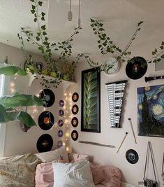 Indie Bedroom, Indie Room Decor, Cute Room Decor, Wall Decor, Room Design Bedroom, Room Ideas Bedroom, Bedroom Decor, Bedroom Artwork, Bedroom Posters