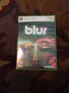 Blur Xbox 360 Game 047875837331   eBay