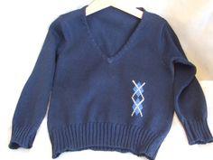 golf  maglioncino gile lana cotone maglia, by maglieria magica, 32,00 € su misshobby.com
