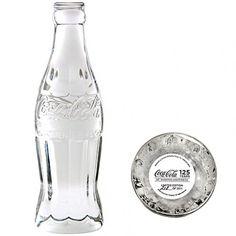 Coca-Cola 125th Anniversary Crystal Bottle.$129.99 «Coke Time»