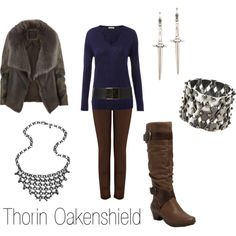 """""""Thorin Oakenshield"""" by ja-vy on Polyvore"""