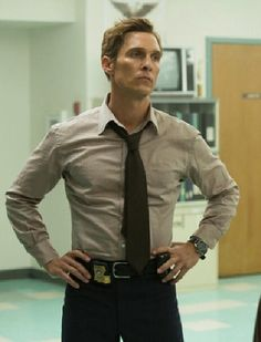 matthew mcconaughey in true detective #swoon