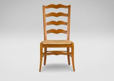 Chapelle Woven-Seat Side Chair $287.10 comes in blue or white finish. Maybe one of each for a bit of wimsy?