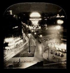 Potsdamer Platz bei Nacht (1927)