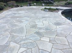 Renovation of an existing patio relaid material