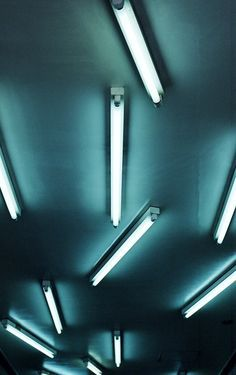fluorescent light wall - Google Search