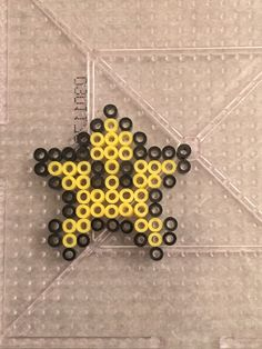 Mario Themed Perler Bead Patterns – For Parents,Teachers, Scout Leaders & Really Just Everyone! Pearler Bead Patterns, Perler Patterns, Pearler Beads, Fuse Beads, Perler Earrings, Mario Star, Perler Bead Mario, Super Mario And Luigi, Minis