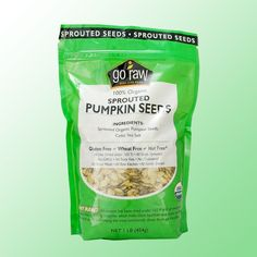 One of our favorite foods, these organic pumpkins seeds are guaranteed to be the tastiest you've tried. Sprouted then dehydrated under 105F, they are as alive as any sprout. Considered one of the healthiest foods on the planet, pumpkin seeds are high in amino acids, zinc, protein, and iron.
