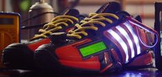 Adidas Social Media Shoe concept moves tweets to the track