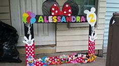 Mickey mouse club house photo frame