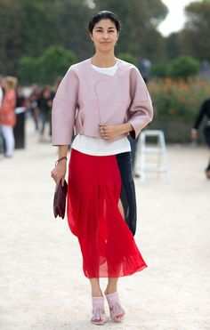Street Style: Paris Fashion Week Spring 2014 - Caroline Issa