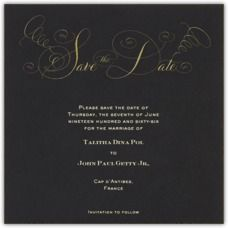 Paperless Post - Wedding Save The Dates