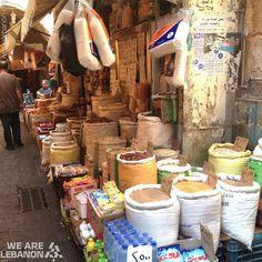 Grocery at #Saida's old souk بقالة بسوق #صيدا القديم By Iman Ghandour