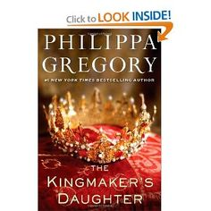 Kingmaker's Daughter.  Familiar story.  Familiar author.  Read if you are collecting Philippa Gregory in your library.  Otherwise, not as good as The Other Boleyn Girl by a long shot.
