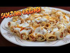 bu kebap rekorlar kırıyor sultan kebabı mutlaka deneyin - YouTube Turkish Recipes, Italian Recipes, Ethnic Recipes, Turkish Kitchen, Eastern Cuisine, Homemade Beauty Products, Turkish Sweets, Kebabs, Fresh Fruits And Vegetables