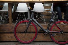 Vanhawks smart bike. Active proximity sensors, mesh network theft recovery, app enabled data tracking.