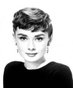 Audrey Hepburn made the pixie cut hot before anyone else.