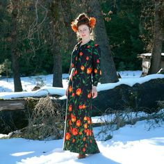 . Boho Dress, Dress Up, Kimono Design, Swinging London, Daytime Dresses, Vintage Looks, Poppy, Dress Black, 1970s