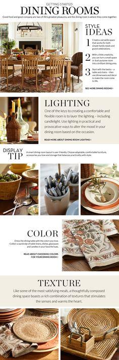 Dining Room Decorating & Decorating Dining Room | Pottery Barn