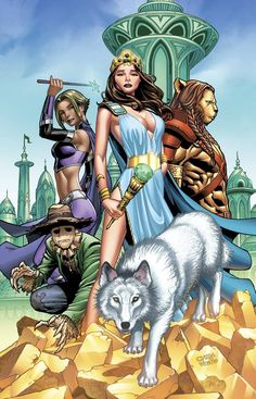 6B cover ~ Zenescope Oz Reign of the Witch Queen #6